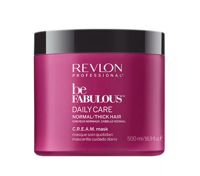 Revlon Be Fabulous Daily Care C.R.E.A.M Normal Hair Thick Mask - Маска для нормальных и густы волос 500 мл